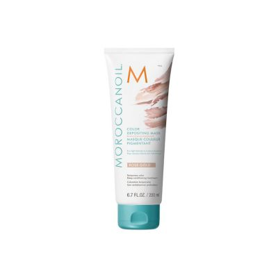 Moroccanoil Mascarilla con Color Oro Rosa 200ml