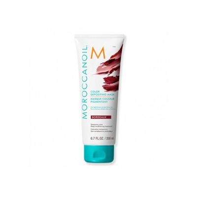 Moroccanoil Mascarilla con Color Burdeos 200ml