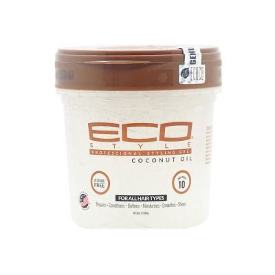 Ecoco Gel Coconut Oil Professional Styling 473ml