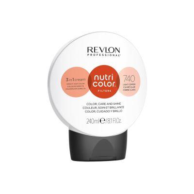 Revlon Crema Nutri Color Cream 740 Cobre Claro 240ml