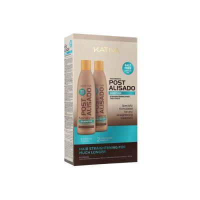Kativa Post Alisado Shampoo + Conditioner