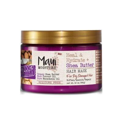 Maui Moisture Mascarilla  Heal & Hydrate + Shea Butter 340g