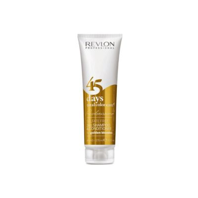 Revlon Champú y Acondicionador Golden Blondes 45 Days 275ml