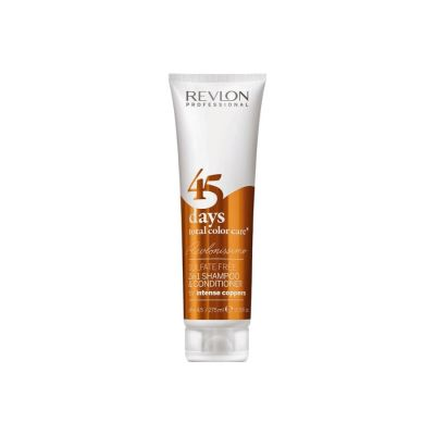 Revlon Champú y Acondicionador Intense Coppers 45 Days 275ml