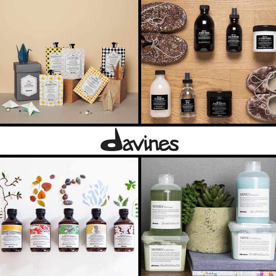 DAVINES una línea de productos con consciencia ecológica