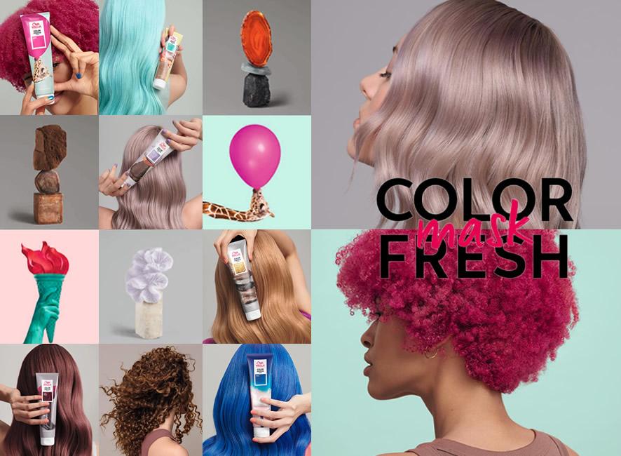Color Fresh Mask - Cuidado y Color Temporal